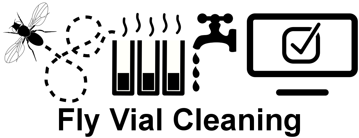 Fly Vial Cleaning